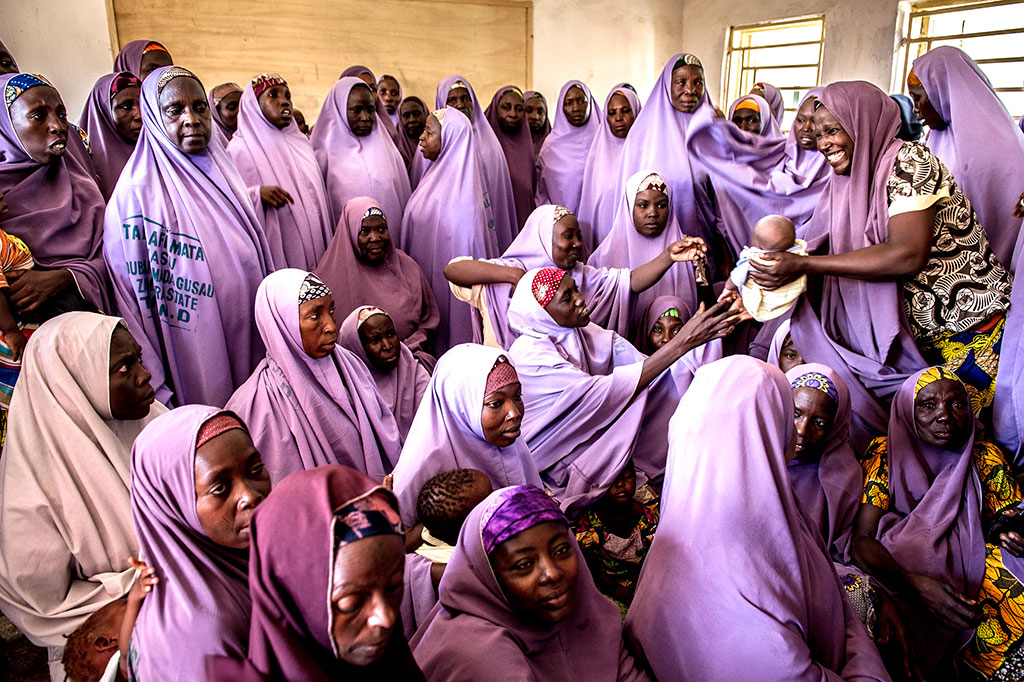 More than 5,500 women belong to the Mada Savings Club in Nigeria.