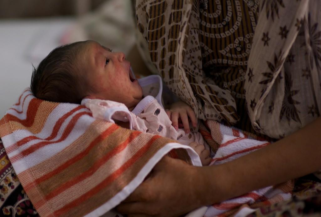 Newborn in India