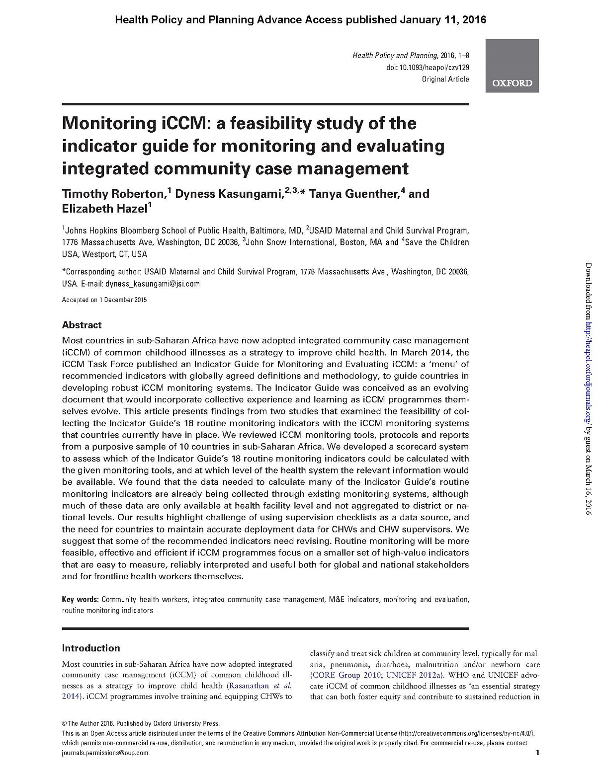 monitoring iccm a feasibility study of the indicator guide for rh mcsprogram org Property Management Study Guide Regulatory Management