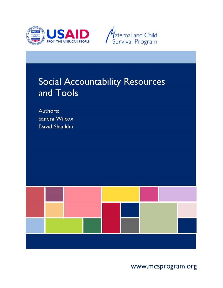 Social Accountability Resources and Tools