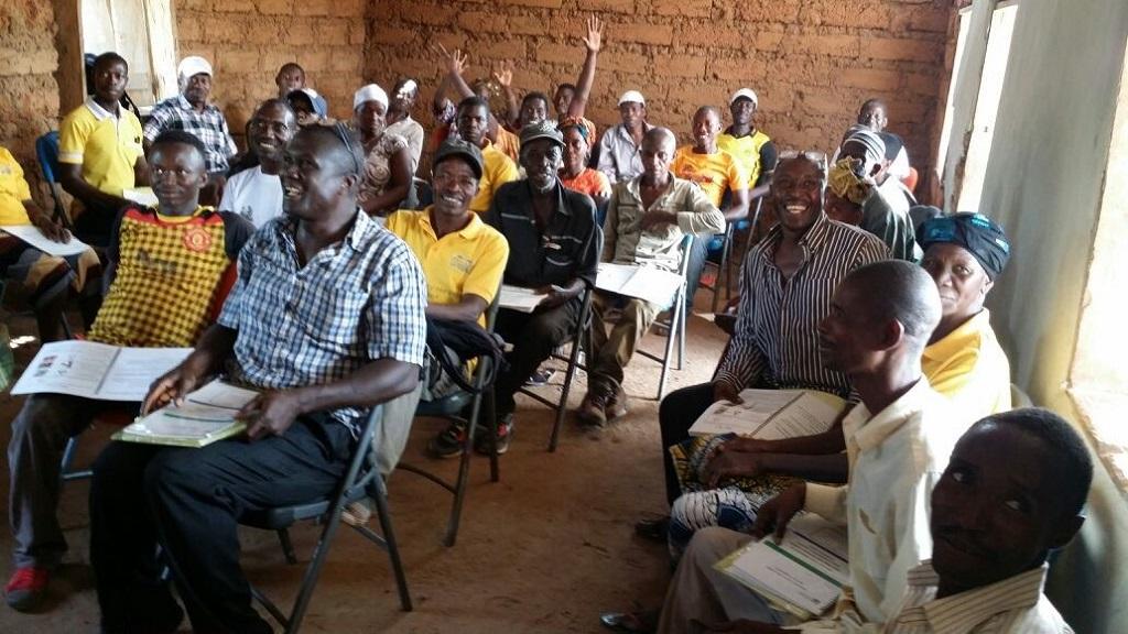 community health worker training session in Port Loko, Sierra Leone