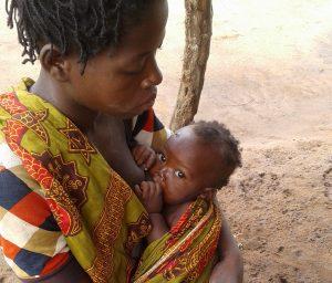 Mualeria breastfeeding Fatima.