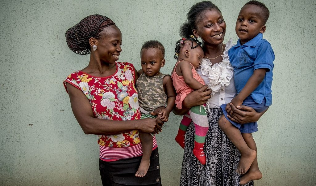 Women and children in Nigeria