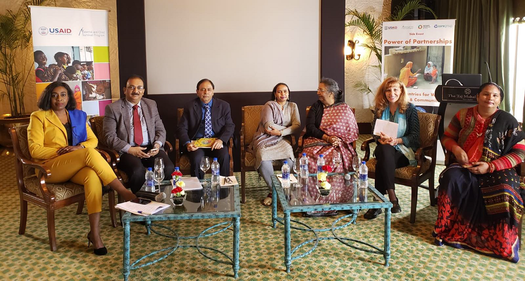 Roundtable participants at the PMNCH side event