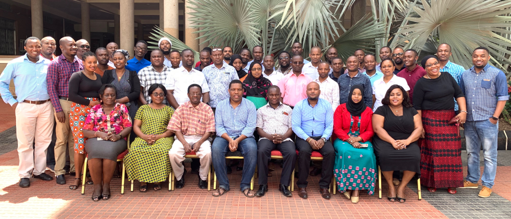 Members of the TzHIE Technical Working Group.