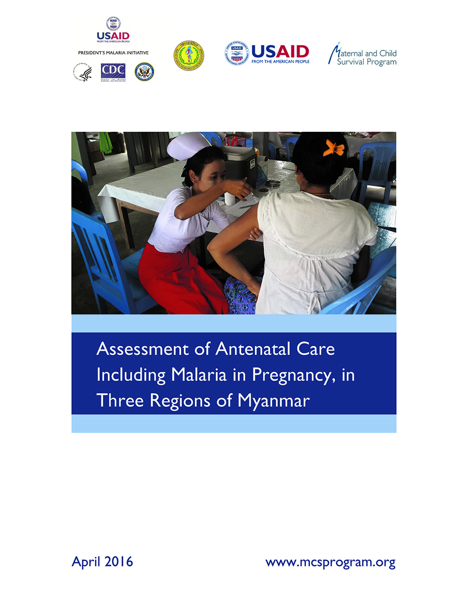 Assessment of Antenatal Care Including Malaria in Pregnancy, in