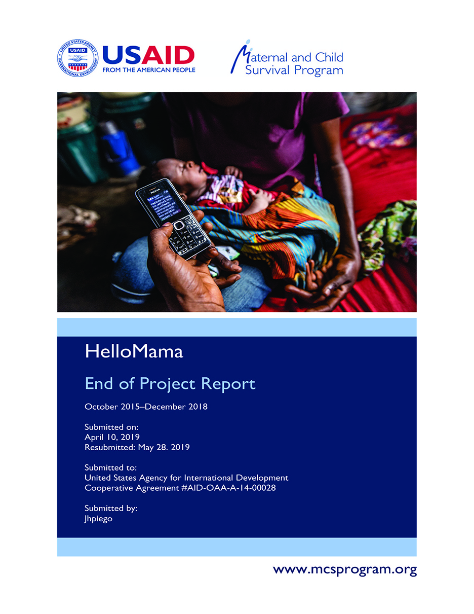 HelloMama - End of Project Report