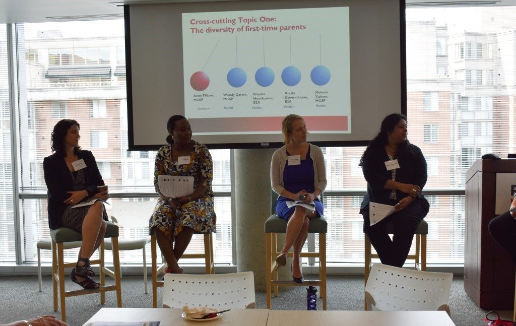 E2A and MCSP staff share insights on the diversity of first-time parents.